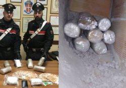 Sessa Aurunca / Mondragone. Arrestato Giacinto Bosco: a casa eroina e cocaina purissima che gli avrebbero potuto fruttare più di un milione e mezzo di euro.