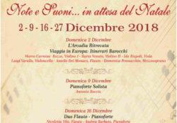 """PIGNATARO MAGGIORE. """"Note e Suoni…..in attesa del Natale"""": appuntamenti artistici del mese di dicembre per gli """"Amici della Musica""""."""
