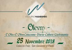 """CAIAZZO. Volturno vagabondo, si parte con """"Oleum"""": l'evento domenica a San Giovanni e Paolo."""