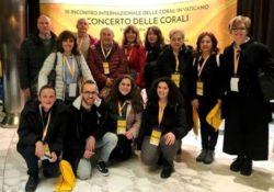 PIEDIMONTE MATESE / ROMA. 12 coristi della Schola Cantorum al III Meeting Internazionale delle Corali in Vaticano: esperienza unica insieme a 8.000 coristi da tutto il mondo.