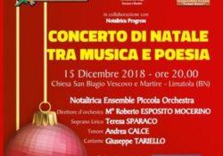 Limatola. Il Concerto di Natale tra musica e poesia: presso la Chiesa di San Biagio il prossimo 15 dicembre.