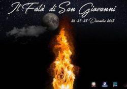 AILANO. Si rinnova la tradizione del Falò di San Giovanni: il 26, 27 e 28 dicembre prossimi in città.