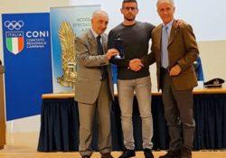Caserta / Teverola. Medaglia d'argento al merito atletico all'olimpionico Giovanni Improta: cerimonia presso la Scuola Specialisti dell'Aeronautica Militare.