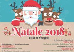 """Venafro. """"La casa di Babbo Natale"""", ecco il canovaccio di eventi per le festività natalizie: chiusura il 6 gennaio all'epifania."""