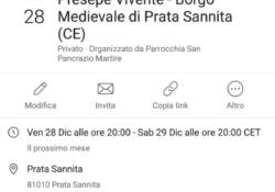 PRATA SANNITA. Il Presepe Vivente nel Borgo Medievale della cittadina: a cura della Parrocchia San Pancrazio Martire i prossimi 28 e 29 dicembre.