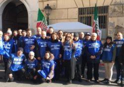 Caserta / Provincia. Mobilitazione nazionale dei gilet azzurri e celebrazione dei 25 anni del movimento.