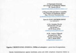"""PIEDIMONTE MATESE. Dissesto al Comune, iniziano le puntate a cura del sindaco Di Lorenzo: la prima è relativa al """"buco Enel"""" per 2milioni di euro."""