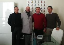 SAN POTITO SANNITICO. Esponenti del Parco Regionale del Matese in Abruzzo per capire il funzionamento di un Parco Nazionale.