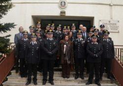Venafro / Agnone / Isernia. Il nuovo prefetto di Isernia Cinzia Guercio in visita istituzionale al Comando Provinciale dei Carabinieri.