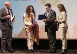 """ALIFE / CANICATTI'. Agnese Ginocchio in Sicilia ospite al progetto """"Il Rotary per la Pace"""" promosso dal """"Rotary Club Canicattì""""."""