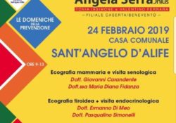 """SANT'ANGELO D'ALIFE. """"Le Domeniche della Prevenzione"""" approda in città, il sindaco Caporaso: """"un'opportunità per i nostri concittadini""""."""