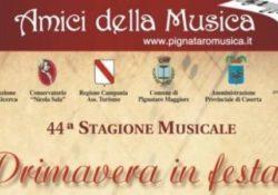 """PIGNATARO MAGGIORE. Festa della Donna, edizione 2019 a cura degli """"Amici della Musica""""."""