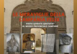 Capua. Giornata internazionale della Guida Turistica: le meraviglie della Campania Felix con una visita guidata al Museo Campano.