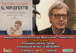 """Telese Terme. Concorso """"AmaRe"""", arriva il critico d'arte Vittorio Sgarbi a premiare gli artisti."""