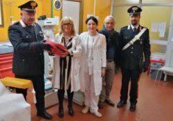 Isernia / Provincia. I Carabinieri di Isernia restituiscono il defibrillatore rubato all'ospedale.