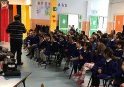 """VAIRANO PATENORA. Per una scuola sicura, progetto sulla sicurezza  a cura dell'Associazione """"Lupi del Vairo"""" e dell'Istituto Comprensivo Garibaldi-Montalcini."""