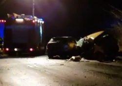 """Faicchio / San Salvatore Telesino. Grave sinistro lungo la """"Telesina"""", 27enne muore sul colpo: in auto con la figlia trasportata d'urgenza in ospedale."""