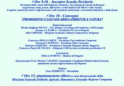 DRAGONI. Festa dell'Albero, diversi appuntamenti in città con protagonisti gli alunni dell'Istituto  Comprensivo, esperti forestali, carabinieri, Cies ed associazioni.