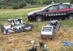 Venafro / Isernia. Furto in esercizio commerciale: i carabinieri ritrovano parte della refurtiva.