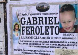 """Piedimonte San Germano. Morte del piccolo Gabriel, """"Quando la mamma è rientrata a casa il bambino era già morto, l'ho visto e non si muoveva"""": a parlare è la bisnonna."""