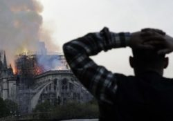 PIEDIMONTE MATESE. La comunità di Ave Gratia Plena esprime solidarietà al popolo parigino per l'incendio alla Cattedrale di Notre Dame.