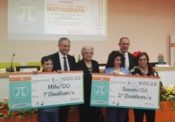 """Telese Terme. I vincitori della quinta edizione della Borsa di Studio """"Mario Liverini""""."""