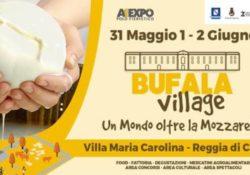 Caserta / Provincia. Bufala Village presso i Giardini Maria Carolina: dal prossimo 31 maggio all'interno della Reggia Vanvitelliana.