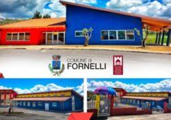 """Fornelli.Sabato 4 maggio si inaugura il mega polo scolastico, """"Il migliore regalo che potessimo fare ai nostri giovani"""": così il sindaco Giovanni Tedeschi."""