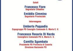 """Capua / S. Maria C.V. Europee 2019, tour di Roberti e Sgambato in Terra di Lavoro: """"apertura alla società civile e a quel mondo di impegno civile in favore dello Stato""""."""