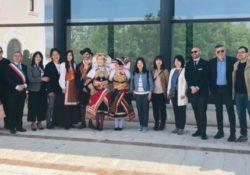 SAN POTITO SANNITICO. Una delegazione di amministratori giapponesi della città di Ichicawa in visita al Parco Regionale del Matese.
