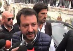 """Pietrelcina. Il Ministro dell'Interno Matteo Salvini in visita nei luoghi di Padre Pio: """"Omaggio ad un grande uomo""""."""