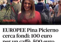 """TEANO / Verso le Europee 2019. """"Nientedimeno, 100 euro per un caffè? Chissà cosa staranno pensando quelli a cui veniva raccontato che con 80 euro ci si poteva fare la spesa per due settimane""""."""