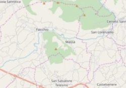 PIEDIMONTE MATESE / FAICCHIO. Scossa di terremoto nel Sannio avvertita anche nella zona del Matese con epicentro tra Faicchio, Piedimonte Matese, Puglianello, Cusano Mutri