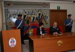 Venafro / Isernia. Ladri di futuro: incontro tenutosi presso la sala briefing del Comando Provinciale di Isernia col Dirigente dell'USR Molise.