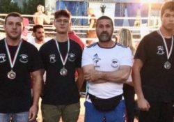 """Teverola. Boxers Improta, tre ori al """"Gladiator 3"""" di Santi Cosma e Damiano."""