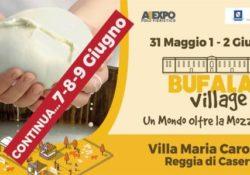 Caserta / Provincia. Il Bufala Village… continua! Altri tre giorni di divertimento e buona cucina dal 7 al 9 giugno ai Giardini di Maria Carolina.