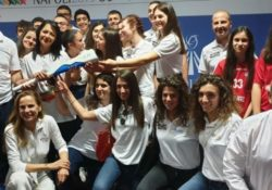PIEDIMONTE MATESE. Universiadi 2019: folta rappresentanza matesina, capitanata dall'assessore Palmeri, avrà l' onore di portare la torcia olimpica nella tappa di Caserta.