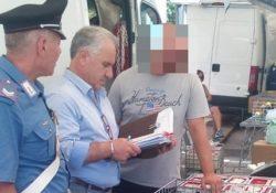 Venafro / Isernia. Carabinieri del Comando Provinciale in azione per le iniziative dedicate alla lotta all'abusivismo commerciale e alla contraffazione.