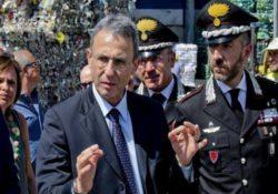 """Caserta / Provincia. """"Levare la miccia da terra: piano straordinario di pulizia dei rifiuti abbandonati nei 90 comuni della Terra dei Fuochi"""", l'annuncio del Ministro Costa."""