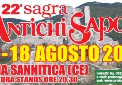 """GIOIA SANNITICA. La Pro Loco gioiese presenta la """"Sagra degli antichi sapori"""": XXII edizione dal 12 al 18 agosto in città."""