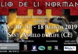 """SANT'ANGELO D'ALIFE. """"Il Palio de li Normanni"""": la Rievocazione Medievale in città dal 15 agosto. IL VIDEO."""