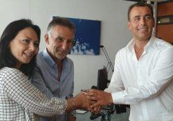 """PIEDIMONTE MATESE. """"Il deposito CLP resta a Piedimonte Matese"""": l'annuncio dell'assessore al lavoro Sonia Palmeri."""