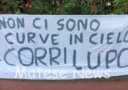PIEDIMONTE MATESE. Quest'oggi i funerali di Alessandro Fusco (alias Lupo junior): tanti i messaggi di cordoglio e striscioni degli amici in tutta la città.