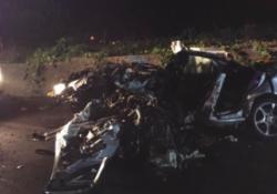 """Torrepalazzo. Grave incidente lungo la """"telesina"""": due morti ed un ferito grave."""