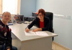 """Isernia / Provincia. Con l'AIPD (Associaizone italiana persone down) """"chi trova un amico trova un tesoro"""": firmata la convenzione."""