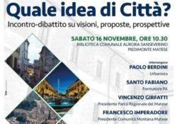 """PIEDIMONTE MATESE. """"Quale idea di città"""": incontro – dibattito su visioni, proposte, prospettive."""