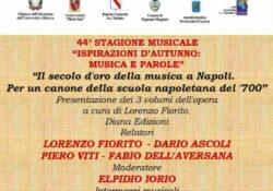 """PIGNATARO MAGGIORE. Un ricco week-end per gli """"Amici della Musica"""" con""""Ispirazioni d 'Autunno : Musica e Parole""""."""