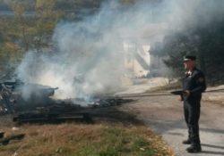 Caserta / Provincia. Denunciato dai Carabinieri Forestali titolare di un opificio industriale per combustione illecita di rifiuti.