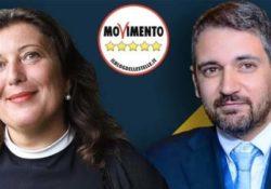 """Caserta / Provincia. Valeria Ciarambino e Salvatore Micillo i referenti regionali del M5S per le elezioni della primavera 2020: """"Mai con De Luca""""."""