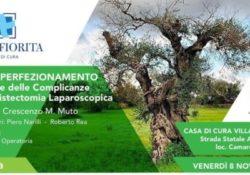 Capua. Prevenzione delle complicanze della colecistectomia laparoscopica: venerdì 8 corso di perfezionamento a Villa Fiorita.